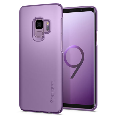 Spigen Galaxy S9 Case Thin Fit Lilac Purple (SF) 592CS22824