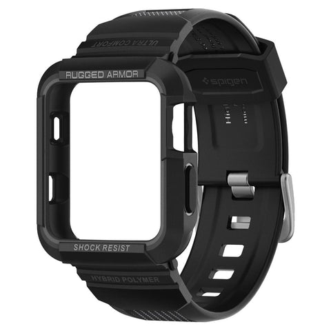 Spigen Apple Watch Series 3/2/1 (38mm) Case Rugged Armor Pro Black 058CS22407