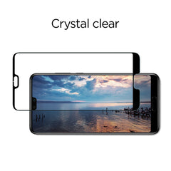 Spigen HUAWEI P20 Pro Tempered Glass Screen Protector Full Coverage Black L23GL23082