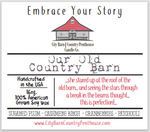 Our Old Country Barn Wax Melts