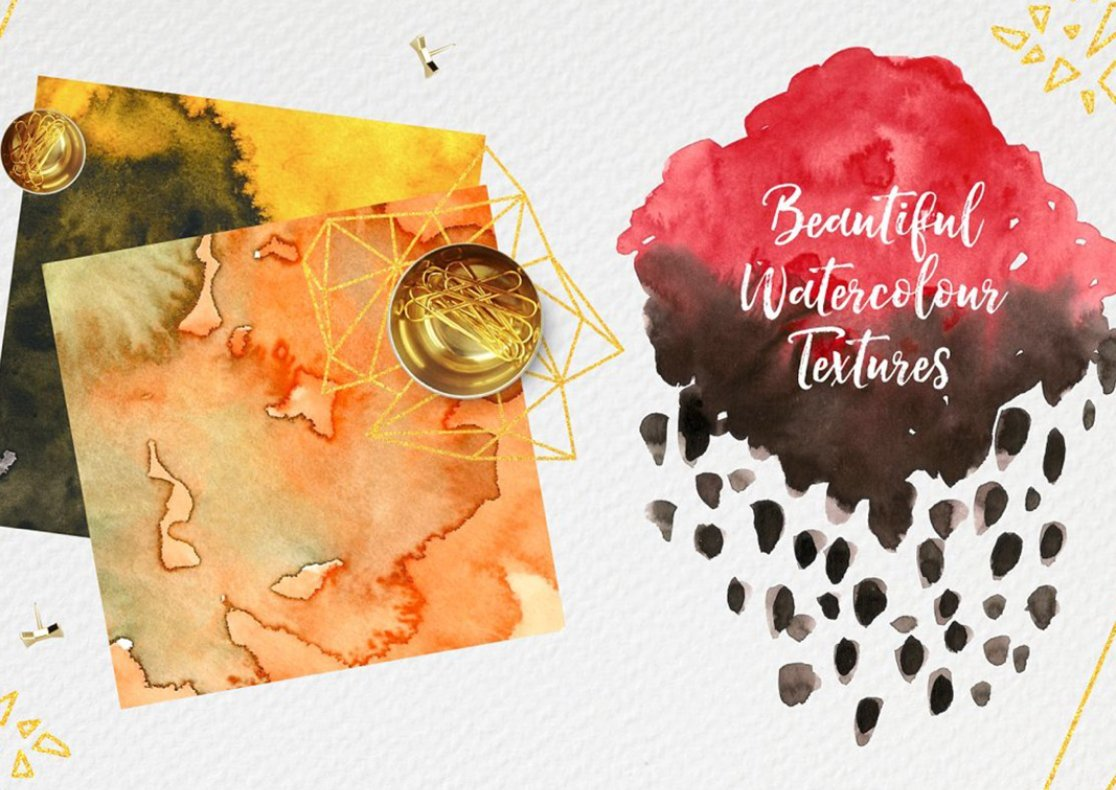 Watercolor Transparent Textures