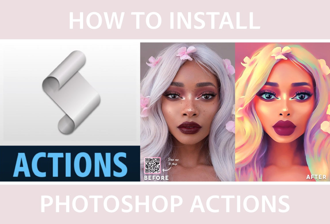 Photoshop Actions, Digital Oil Painting Effect Actions, Oil Painting, Easy, Quick, Photoshop, Realistic Painting Effect, Photography Presets Actions Skin Retouch Actions Cartoon Painting Effect