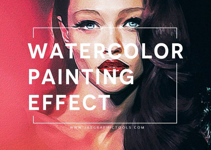 Digital Watercolor Painting Effect Photoshop Actions Photo To Painting Photo To Watercolor Painting Digital Watercolor Painting Photoshop Actions