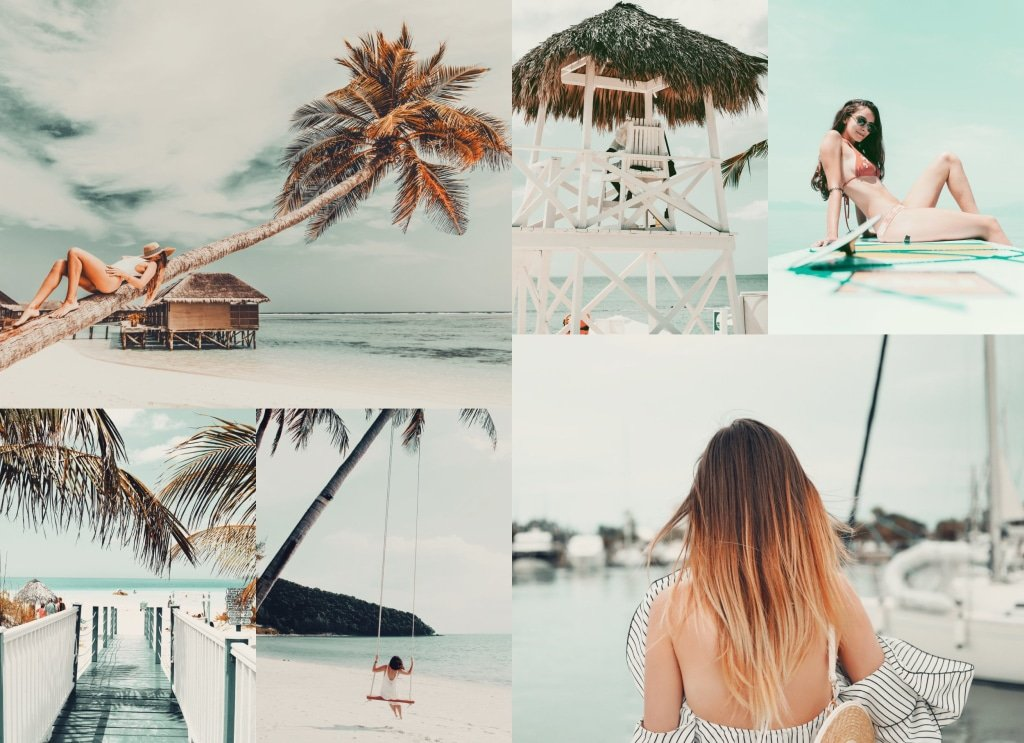 18 Melon Summer LUTS Pack Photography Presets Lightroom CameraRaw Photoshop Lumafusion