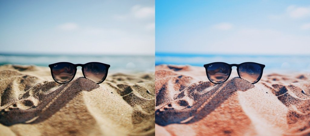 24 Ocean Blue Summer LUTS Pack Photography Presets Lightroom CameraRaw Photoshop Lumafusion