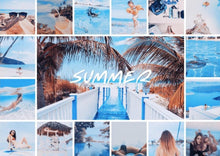 Carica l'immagine nel visualizzatore di Gallery, 24 Ocean Blue Summer LUTS Pack Photography Presets Lightroom CameraRaw Photoshop Lumafusion