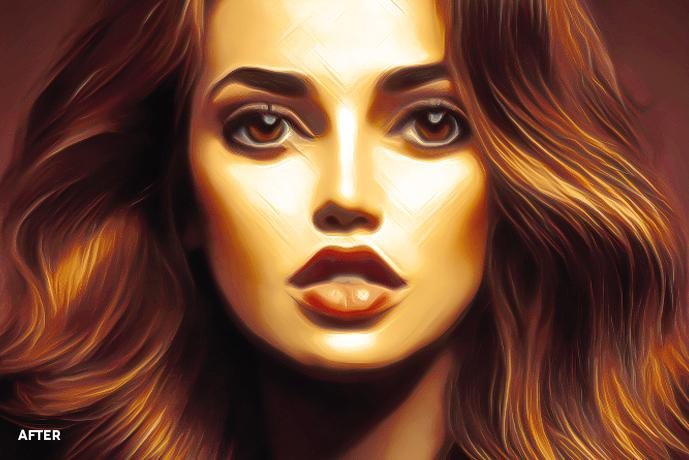 Ultimate Painting Effect Actions Photo To Painting Turn Photos Into Paintings Photoshop Painting Actions Digital Painting