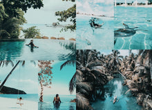 Load image into Gallery viewer, 31 Bora Bora Summer LUTS Pack Photography Presets Lightroom CameraRaw Photoshop Lumafusion