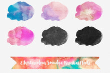 Load image into Gallery viewer, Text To Watercolour Photoshop Layer Styles Vector to Watercolor Photoshop Actions Watercolor Effect
