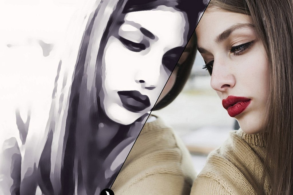 Black and White Oil Painting Effect Photoshop Actions Photo To Painting Realistic Digital Oil Painting Effect Turn Photos Into Paintings Easily In Once Click