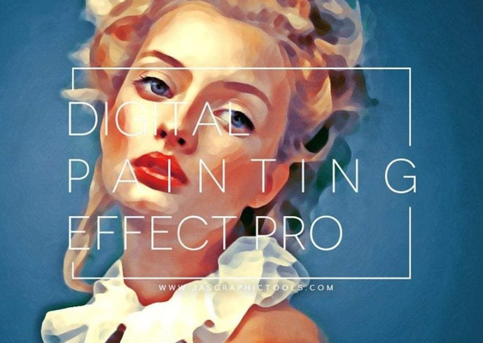 Digital Painting Effect Pro Photoshop Actions Photo To Painting Realistic Digital Oil Painting Effect Turn Photos Into Paintings Easily In One Click