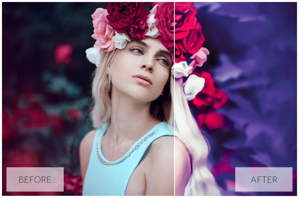 Easy Oil Painting Effect Photoshop Actions Photo To Painting Realistic Digital Oil Painting Effect Turn Photos Into Paintings Easily In One Click