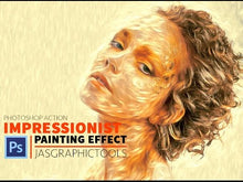Load and play video in Gallery viewer, Impressionist Oil Painting Effect Actions