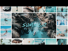 Load and play video in Gallery viewer, 31 Bora Bora Summer Presets Photography LUTS