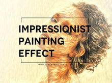 Load image into Gallery viewer, Impressionist Oil Painting Effect Photoshop Actions Photo To Painting Realistic Digital Oil Painting Effect Turn Photos Into Paintings Easily In One Click