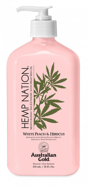 HEMP NATION White Peach & Hibiscus After Tan