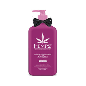 Hempz 2017 Limited Edition Sweet Whipped Creme & Wild Berry Moisturizer