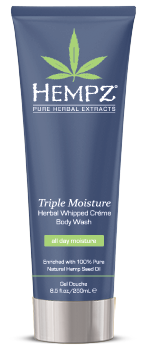 Hempz Triple Moisture Whipped Creme Body Wash