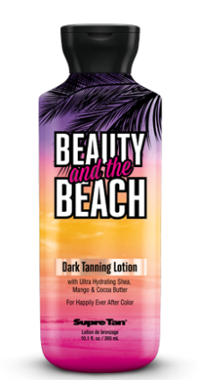 Beauty and the Beach Dark Tanning Lotion