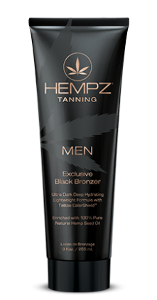 Hempz Men's Exclusive Black Bronzer