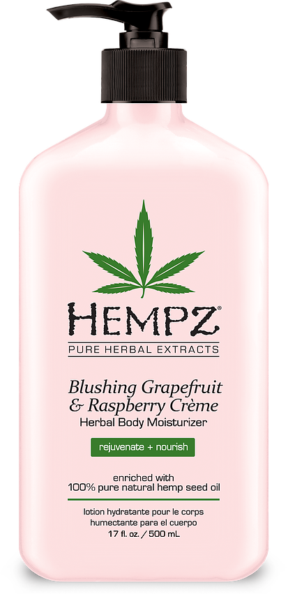Blushing Grapefruit and Raspberry Creme Herbal Body Moisturizer