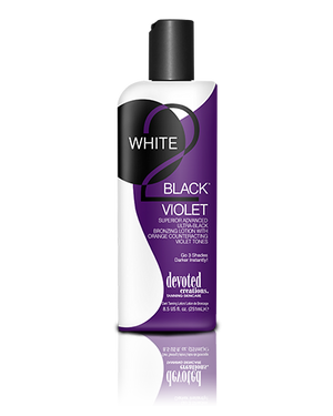 White to Black - Violet