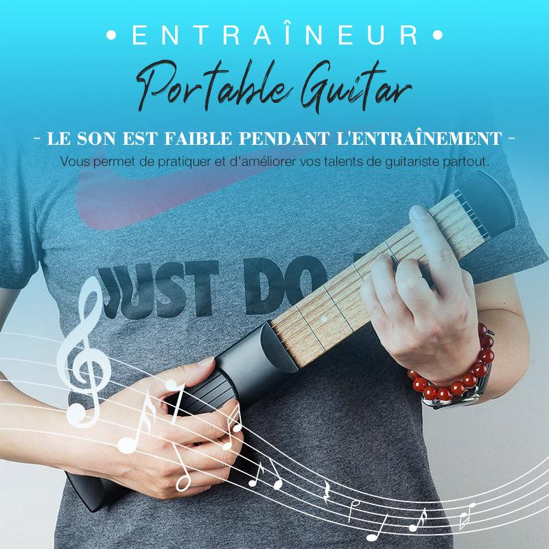 (50%OFF!!!)Entraîneur De Guitare Portable