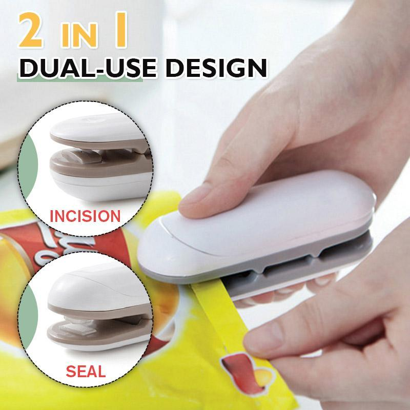 2 IN 1 Portable Sealing Machine