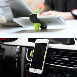 Air Outlet Car Charger Holder