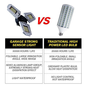 Lampe Forte Photosensible de Garage-2