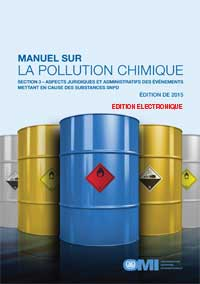 E637F - E-Book: Manual on Chemical Pollution (Section 3), 2015 - French