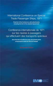 E727B - E-Book: Special Trade Passenger Ships Conference, 1972 - English & French