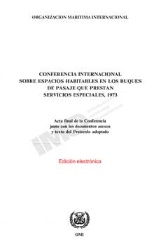 E736S - E-Book: Space Requirements for Special Trade Ships, 1973 - Spanish