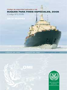 EA820S - E-Book: Safety Code for Special Purpose Ships (SPS), 2008 - Spanish