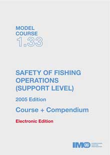 ET133E - E-Book: Model Course: Safety of Fishing Operations (Support), 2005 - English