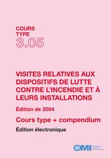 ETA305F - E-Book: Model Course: Survey of Fire Appliances and Provisions, 2004 - French