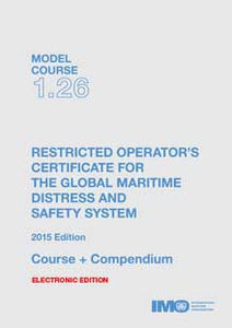 ETB126E - E-Book: Model Course: GMDSS Restricted Operator's Certificate, 2015 - English