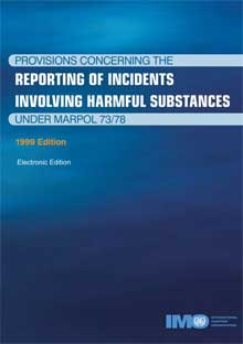 KA516E - E-Reader: Reporting Incidents u. MARPOL, 1999 - English