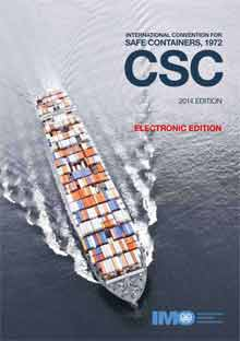 KC282E - E-Reader: Convention for Safe Containers (CSC 1972), 2014 - English