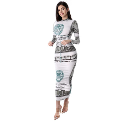 Money Dress - Nothing To Wear LLC