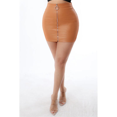 Nude Skirt - Nothing To Wear LLC