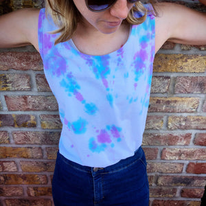 ✨ INTERGALACTIC TIE DYE VEST TOP ✨
