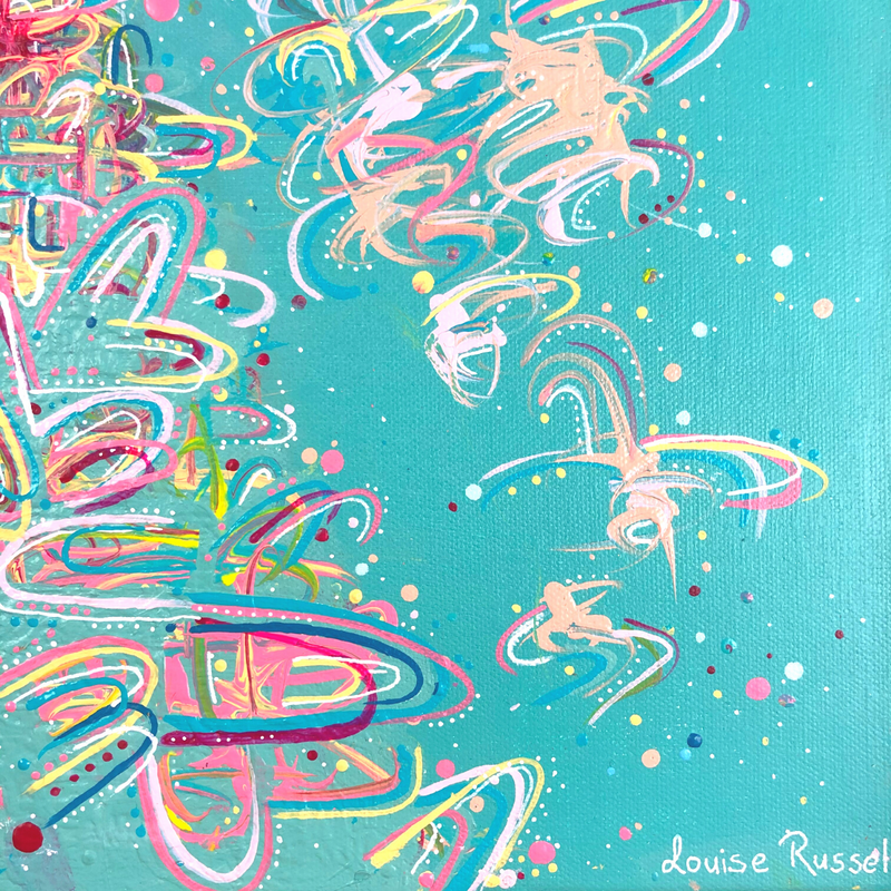 Rapid Change | Original Artwork - Louise Russell Art