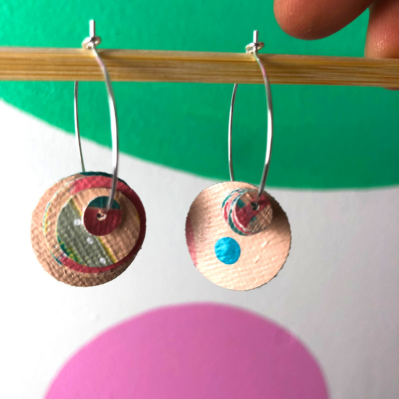 Sea Change Earrings (4) - Louise Russell Art