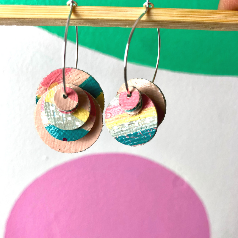 Sea Change Earrings (6) - Louise Russell Art