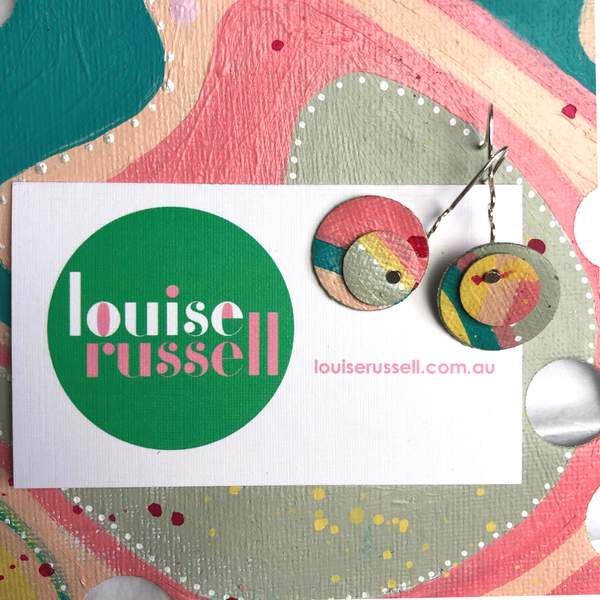 Sea Change Earrings (7) - Louise Russell Art