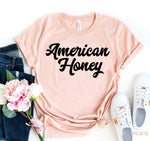 Load image into Gallery viewer, American Honey T-shirt | gymgiantgear