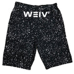 Load image into Gallery viewer, Black Splatter Logo Shorts | gymgiantgear