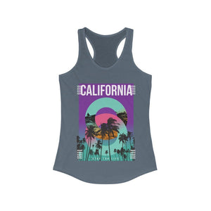 California Stay for Life Racerback Tank Top | gymgiantgear