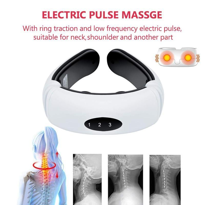 Electric Max Relaxation Neck Massager | gymgiantgear